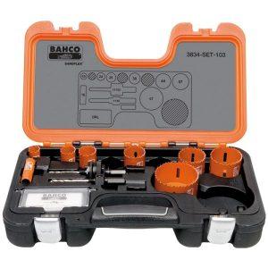 Bahco 3834-SET-103 Hålsågsats