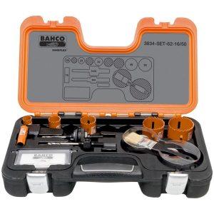 Bahco 3834-SET-62-16/50 Hålsågsats
