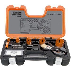 Bahco 3834-SET-65-16/51 Hålsågsats