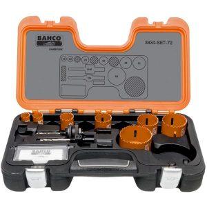 Bahco 3834-SET-72 Hålsågsats