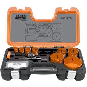 Bahco 3834-SET-92 Hålsågsats