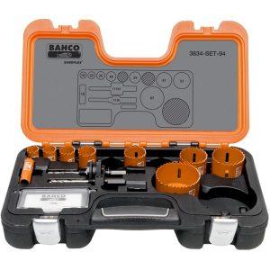Bahco 3834-SET-94 Hålsågsats