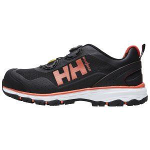 H/H Workwear Chelsea Evo BOA Skyddssko S1P, metallfri, svart, aluminiumhätta Strl 40
