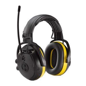 Hellberg SECURE REACT Hörselskydd radio, medhörning, hjässbygel