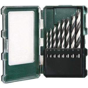 Metabo 626705000 Borrsats för trä, 8 delar