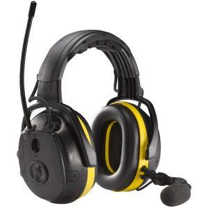 Hellberg Synergy Hörselskydd Bluetooth, medhörning och hjässbygel