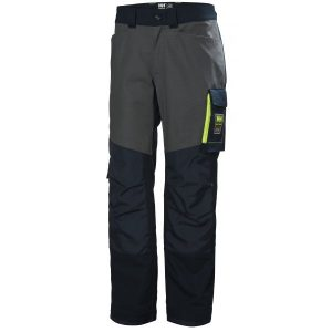 H/H Workwear Aker Arbetsbyxa marinblå/grå D104