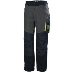 H/H Workwear Aker Arbetsbyxa marinblå/grå D96