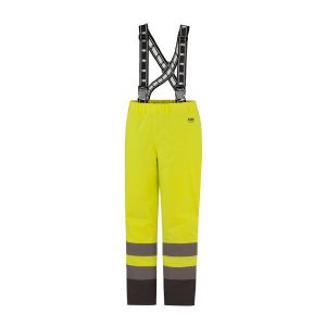 H/H Workwear Alta Arbetsbyxa varsel, gul/svart M