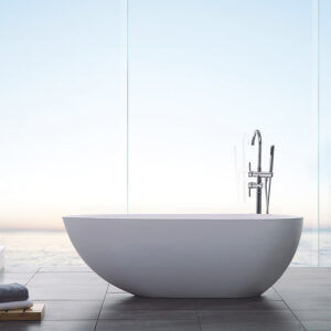 Badkar Bathlife Ideal Design Gjutmarmor