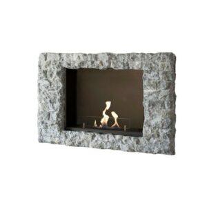 Goya Vägghängd Etanolkamin - Stenvägg