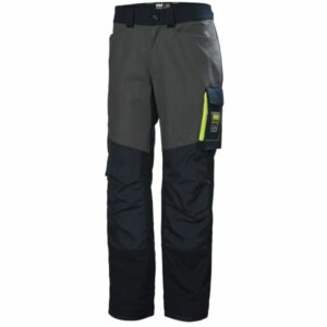 H/H Workwear Aker Arbetsbyxa marinblå/grå D100