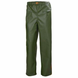 H/H Workwear Gale Regnbyxa grön, vindtät M