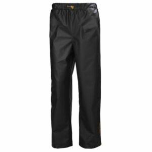 H/H Workwear Gale Regnbyxa svart, vindtät M