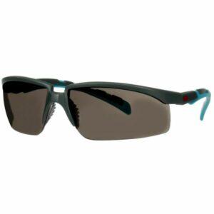 3M Solus 2000 Skyddsglasögon Grå/blå skalm, klargrå lins