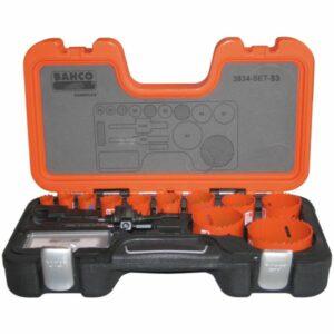 Bahco 3834-SET-53 Hålsågsats