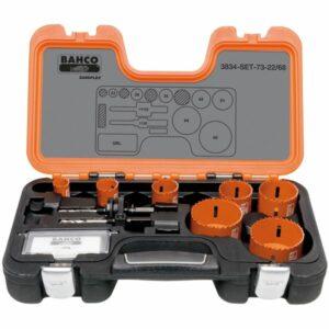 Bahco 3834-SET-73-22/68 Hålsågsats