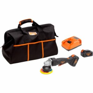 Bahco BCL33AP1K1 Vinkelpolermaskin med 5,0Ah batterier och laddare
