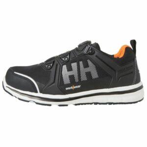 H/H Workwear Oslo BOA Low Skyddssko S3, svart, aluminiumhätta Strl 40