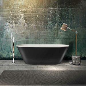Badkar Bathlife Balans Svart